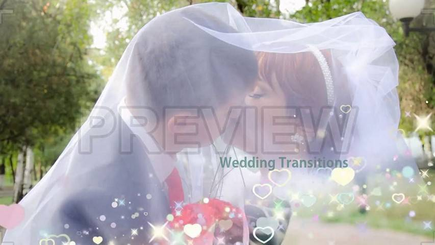 5 Wedding Transitions - Free Motion Graphics