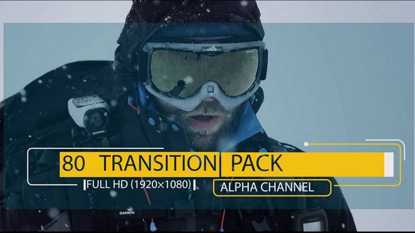 80 Transition Pack - Free Download Motion Graphics - Футажи