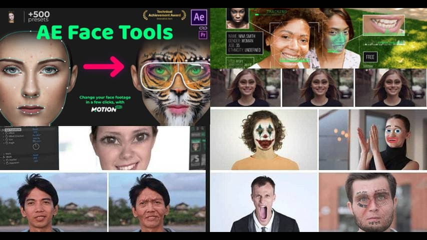 AE Face Tools 24958166 VideoHive - After Effects Project free