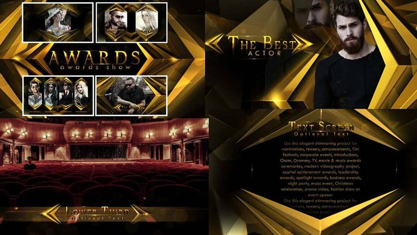 Awards Show 23187355 - Free Download After Effects Project