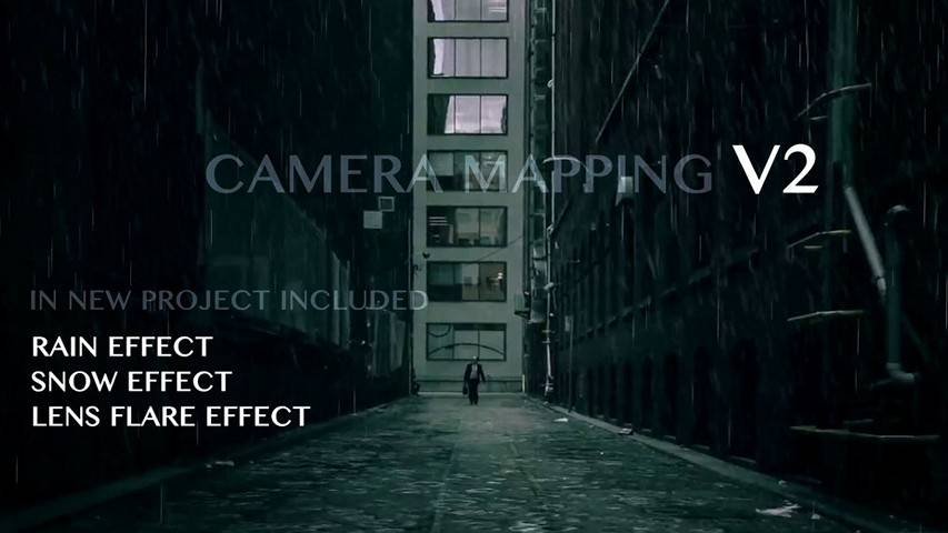 Camera Mapping V2 - Project for After Effects