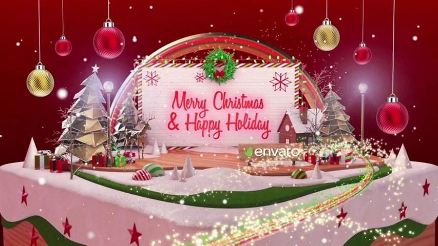 Christmas Card - Free After Effects Template