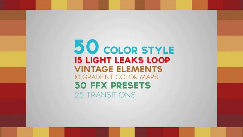 Color Pack with Light Leaks - AE Project [VideoHive]