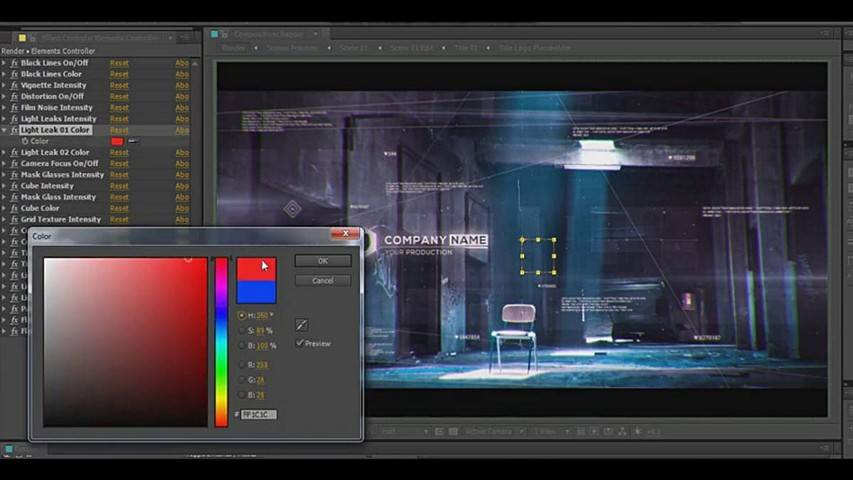 Digital Code Slideshow - After Effects Project Files [torrent
