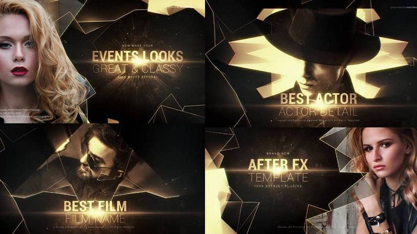 Excellence Awards Titles - Free After Effects Project