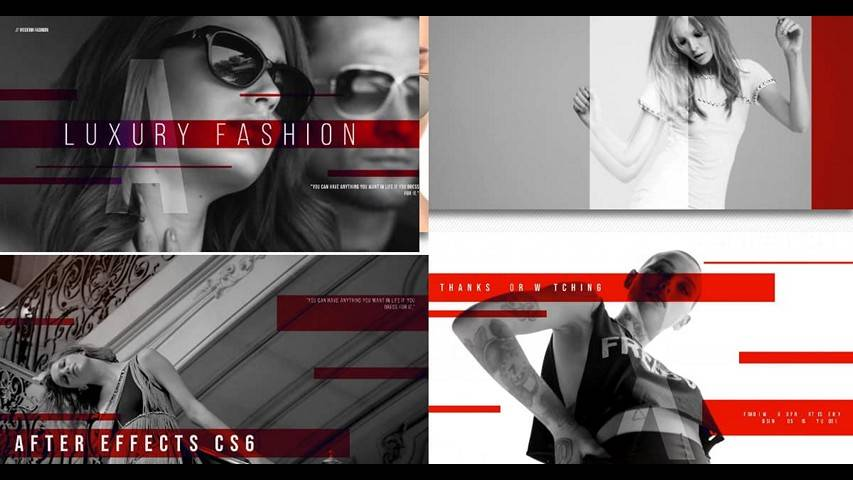 Fashion Style Promo - Free After Effects Project Files