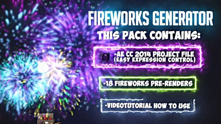 Fireworks - After Effects Project [torrent]