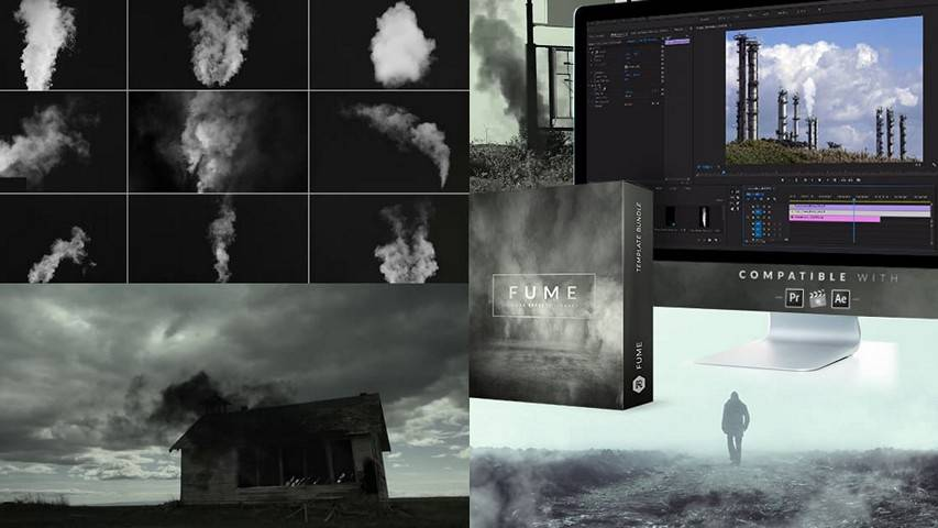 Fume: 150+ Smoke Effects - RocketStock RS3021 free video footage