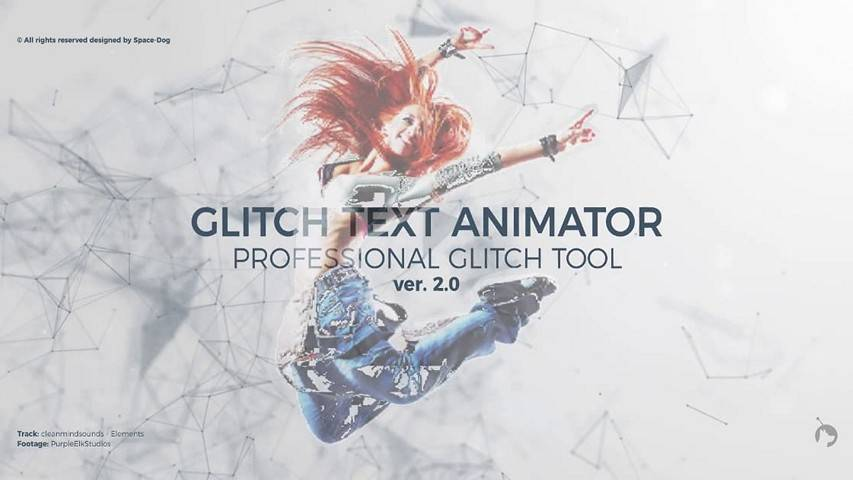 Glitch Text Animator - Free After Effects Projects