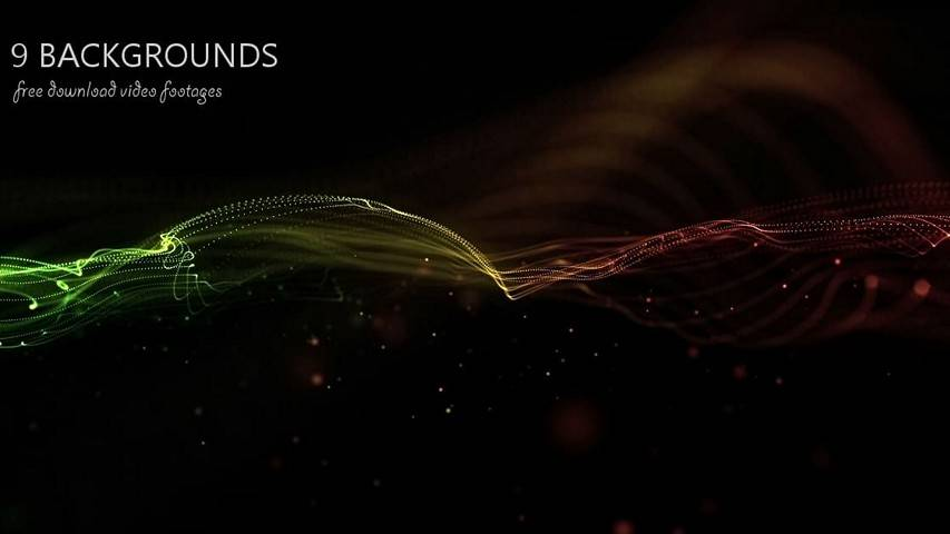 Motion Graphics - Background for creating titles
