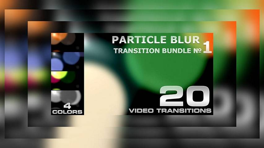 Particle Blur Transition v1 (videohive)