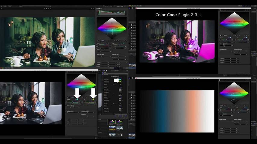 Плагин Color Cone Plugin 2.3.1 (Win) с лекарством