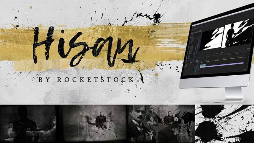 RocketStock RS3011 - Hisan: 50+ Ink Splash Transitions