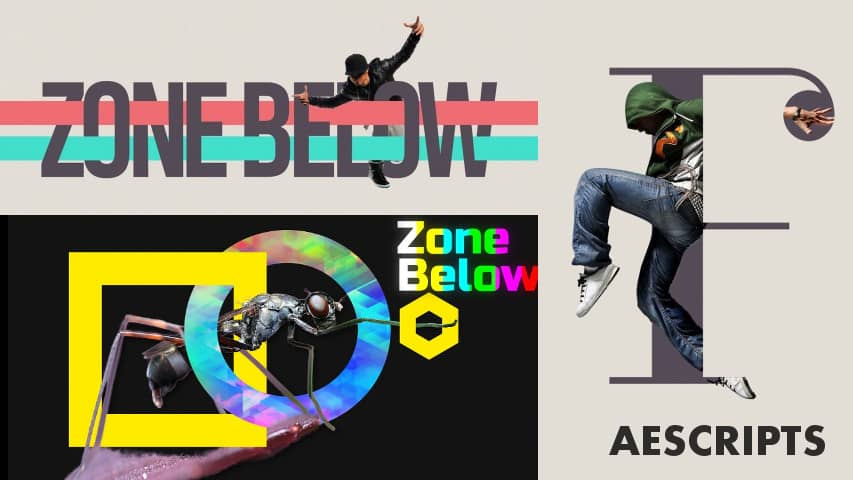 Скрипт Zone Below для After Effects (aescripts)