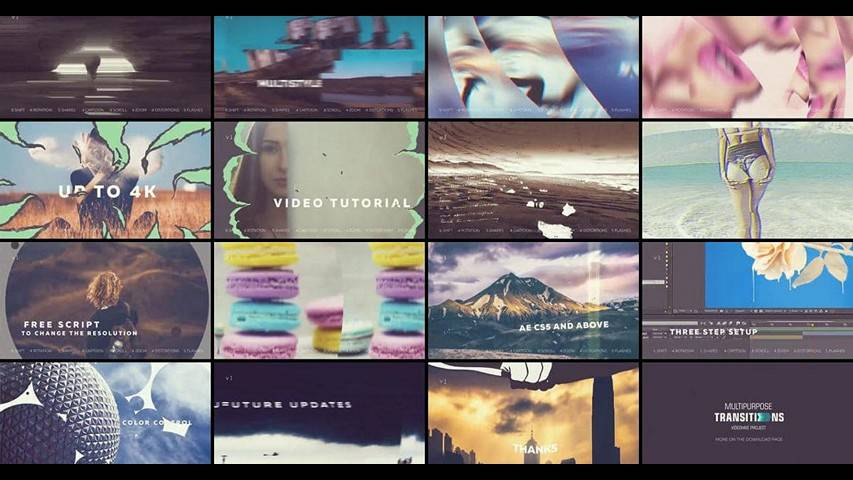 Transitions VideoHive 20737863 - Free After Effects Project