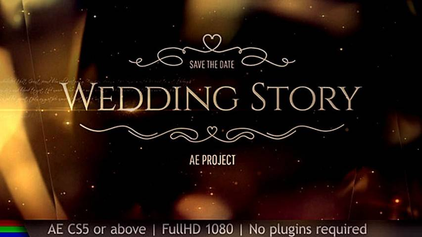 Wedding project for After Effects (torrent)